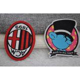 Emblema tecido colorido personalizado da correção de programa das etiquetas baixo MOQ para o vestuário dos miúdos/Epaulet