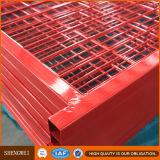 Recinzione provvisoria saldata alta visibilità della rete metallica