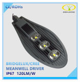 30W de alta potencia 60W 100W 150W LED IP67 de la luz de la calle con 5 años de garantía