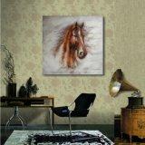 油絵の馬ヘッド