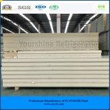 ISO、SGSは涼しい部屋の冷蔵室のフリーザーのための200mm浮彫りにされたアルミニウムPurサンドイッチ(速合いなさい)パネルを承認した