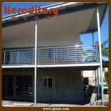 Barandilla exterior del acero inoxidable del pórtico para el pasamano del balcón (SJ-X1007)