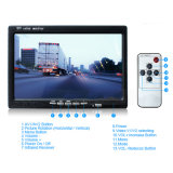 트럭 모니터 4 영상 +4 CCD 백업 사진기를 반전하는 7 인치 쿼드 디지털 LCD