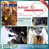 Markierungsfahne-Geformte Tierohr-Marken der Ohr-Marken-/RFID für Tiermanagement