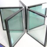 منخفض E المغلفة معزول ويندوز زجاج / مزدوجة الزجاج الحائط الساتر زجاج النوافذ