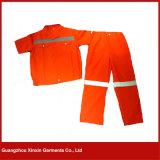 A fábrica de Guangzhou projeta o uniforme do trabalho da segurança da forma (W44)