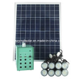 с 8PCS 3W СИД Light Solar Lighting Kits