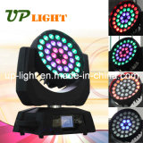 36pcs*10W 4en1 Zoom Aura lavado LED moviendo la cabeza