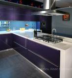 Compartiments de cuisine peints par boulangerie commerciale de meubles de cuisine dans la salle d'exposition
