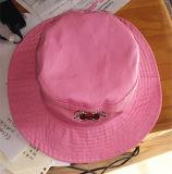 Chapéu do pescador da forma chapéu bordado da cubeta da plataforma da praia