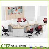 Seul poste de travail de compartiment de bureau de personne des meubles de bureau 3