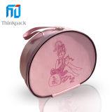 2014 Nuevo estilo Pink Oval joyería caja de regalo