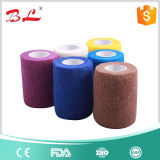 Powerflex 3inch * 5yard Sport Stretch Tape Bandagem Cohesiva Pre Wrap Vet 12 Rolls