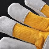 Промышленная кожаный перчатка работы безопасности (FL-1020)