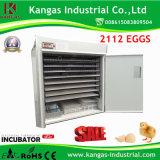 Oeufs de l'incubateur commerciaux les plus neufs certifiés par CE 2112 d'oeufs