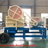 2016 Yuhong Small Mobile Stone Crusher