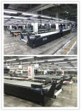Machine automatique de coupe de tissu de convoyeur automatique