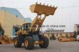 중장비 6 톤 바위 물통 바퀴 로더 (LQ968)