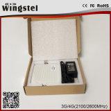 Répéteur mobile à deux bandes de signal du modèle neuf 3G 4G 2100/2600MHz