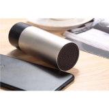 Portátil de regalo de promoción cilíndrica de metal Mini Altavoz inalámbrico Bluetooth estéreo