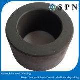 Ferrite dura/ímã permanente aglomerado cerâmico do anel Multipole para o micro motor