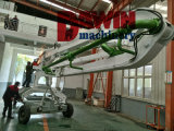 17m Hot Selling Quality Electric Motor Power Hidráulica Drive Concrete Placing Boom Distributor