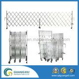 Cerca temporal movible del acero y de aluminio