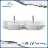 Vasque en céramique et évier lavabo à main de vanité (ACB2187)