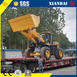 Xd958g 5 Rad-Ladevorrichtungs-Aufbau-Maschinerie der Tonnen-steuerpflichtigen Eingabe-Zl50