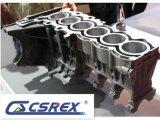 Автоматический цилиндровый блок части двигателя с отливками песка