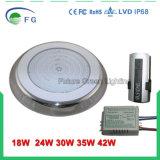 lampada fissata al muro controllata della piscina dell'interruttore LED di RGB dell'acciaio inossidabile 18W 316