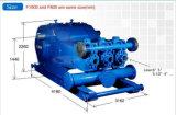 F Series F1000 Bomba de lodo Bomba de pistón de un solo cilindro de 3 cilindros