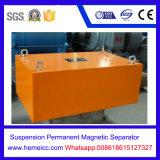Separatore magnetico permanente della sospensione di Rcyb, dispositivo di rimozione del ferro