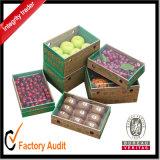Гофрированное фруктовых ящиков, самые дешевые фрукты упаковке,