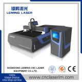 Tagliatrice del laser della fibra di CNC di Metà di-Potere per i piatti di metallo Lm3015g3