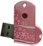 Giratorio Mini forma una unidad flash USB con logo personalizado