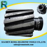 Romatools 다이아몬드 닦는 돌 가장자리를 위한 맷돌로 가는 공구 절대 금지 바퀴