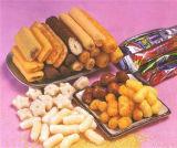 het voedsellopende band van kern vullende snacks