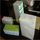 De automatische Machine van het Cellofaan van de Doos van het Condoom Verpakkende Inpakkende