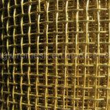 真鍮ワイヤー振動スクリーンのひだを付けられた金網
