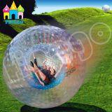 Agua Finego inflable Shinning bola de la hierba Bumper Ball Cuerpo bola de Zorb