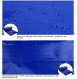Rullo blu dei tessuti della tela incatramata del PVC per la copertura, strato della tela incatramata