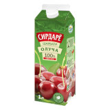 1L Juice Gable Top Carton com tampas de 28mm