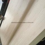 markt van het Vernisje Plywood/USA van het Triplex van 5.2mm de Decoratieve Rode Eiken Buitensporige
