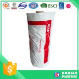 Lavandaria de saco de vestuário de plástico usado em rolo