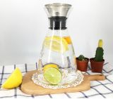 Home Dining Clear Glass Water Pitcher Drinks Juice Coffee Jug for Wholesale