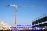 Guindaste de torre agradável da qualidade de Hongda com carga de 16 toneladas