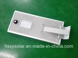Luz solar integrada del jardín de la calle de 12W LED con todos en una