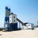 Planta de lote de concreto estacionária com transportador de correia (Hzs60)