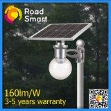 Luz solar do jardim da rua para a lâmpada do diodo emissor de luz 8W com bateria de Li